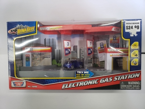 Motor Max Dyna City Electronic Gas Station