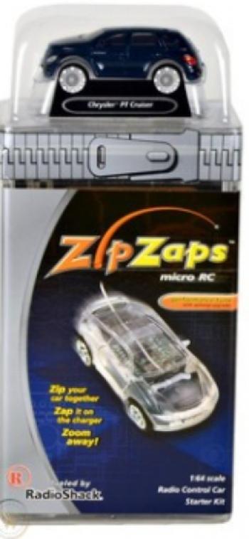 Zipzaps Chrysler PT Cruiser Micro RC Radio Control Car