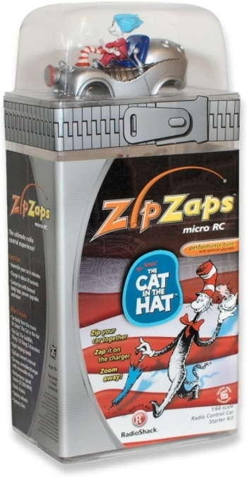 Zipzaps Cat In The Hat Micro RC Radio Control Car