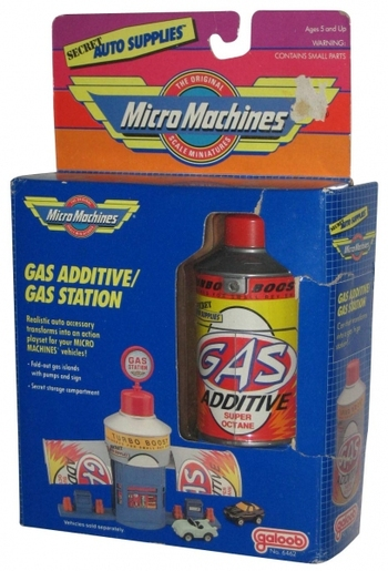 Galoob Micro Machines Gas Additive/Gas Station