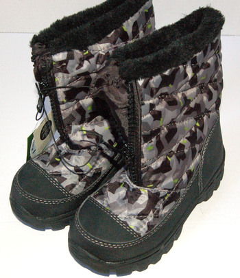 New With Tags Boys' Zip Snow Boots Size 13