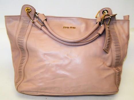 Miu Miu by Prada Satchel Large Handbag