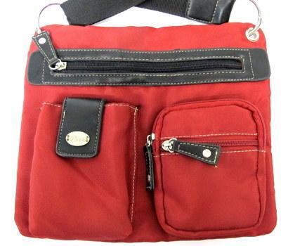 Roots Fabric Crossbody/Messenger Bag