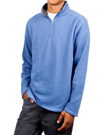 NWT Mens Arrow 1/2 Zip Fleece Blue Size XL