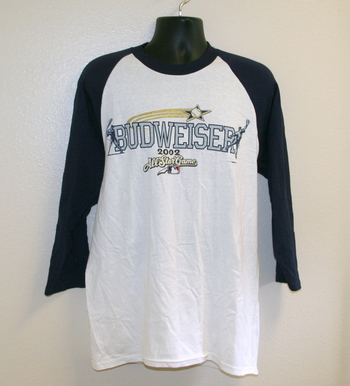 2002 All Star Game Earnhardt Jr. Baseball Shirt -