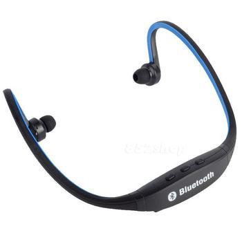Bluetooth Wireless Headset Stereo Headphone Earphone Hands-free Sport Universal Blue