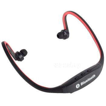 Bluetooth Wireless Headset Stereo Headphone Earphone Hands-free Sport Universal Red