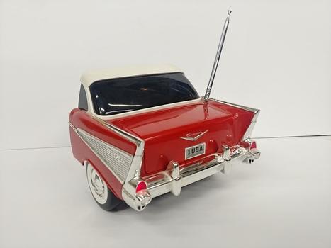 Vintage Chevrolet Belair Tail End Replica AM/FM Radio