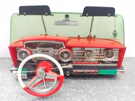 Vintage 1950's Deluxe Dashboard Toy