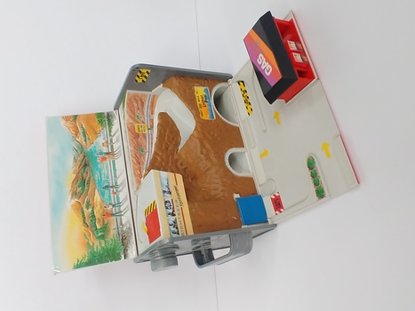Vintage 1989 Micro Machines Gas Can/Mountain Service Play Set