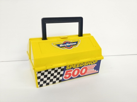 Vintage 1990 Micro Machines Speedshop 500 Tool Chest