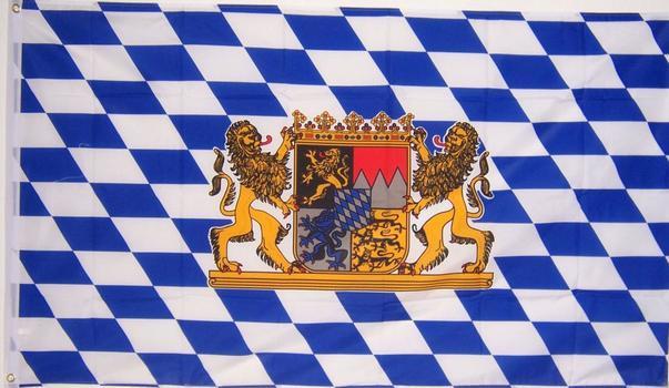 3' x 5' Ft. Bavaria German Flag