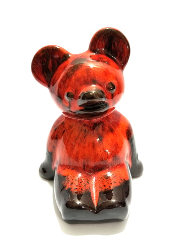 Blue Mountain Pottery Bear Coin Bank