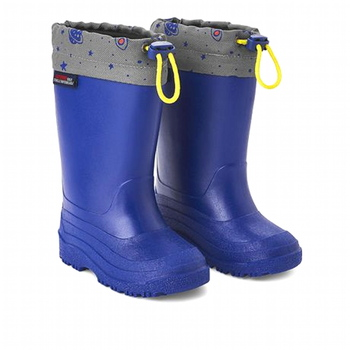 Weather Spirits Toddler Boys' Drawstring Rain Boots Size 8