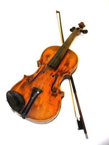 Vintage Violin & Bow