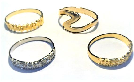 Bangle Bracelets 4 Pieces