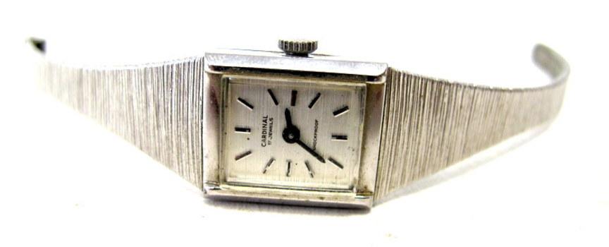 Vintage Ladies Cardinal 17 Jewels Watch