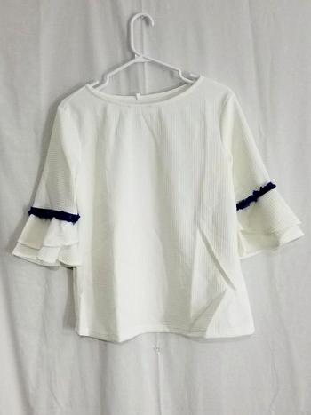 Ladies Blouse White Size M