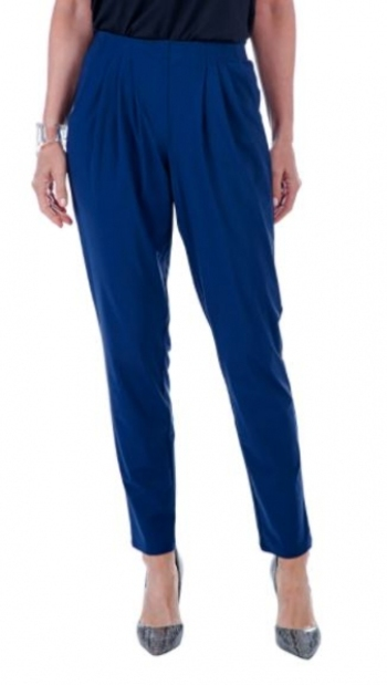 Marla Wynne Stretch Tech Slouch Pant, Size: Large, Colour: Midnight, Retail: $102.00