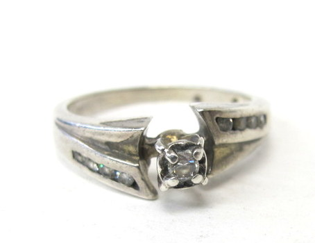 Sterling Silver Ring- Size 6.5