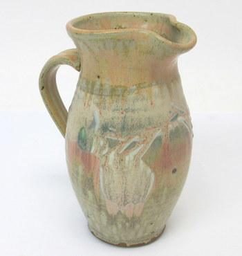 Vintage Pottery Pitcher