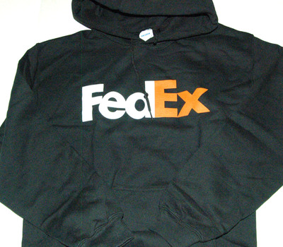 GILDAN FedEx Hoodie Mens Size S
