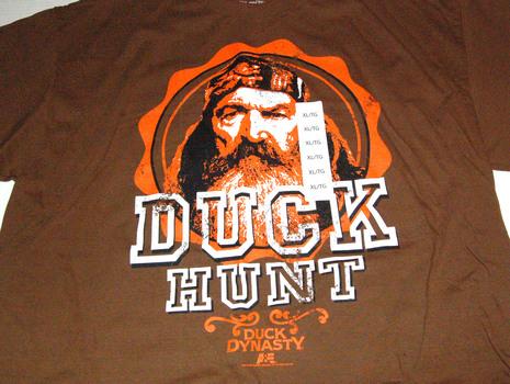 "DUCK DYNASTY ""Duck Hunt"" Men's Tee Size XL"