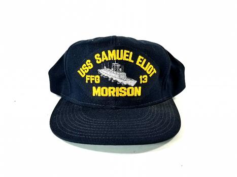 USS Samuel Eliot Morrison FFG 13 Snapback Baseball Cap