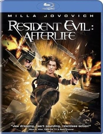 Resident Evil: Afterlife Blu-ray Disc, 2010