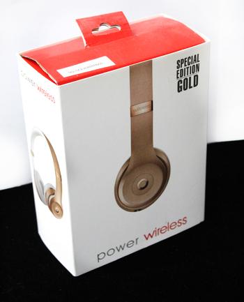 POWER WIRELESS - On Ear Headphones - GOLD