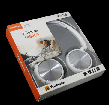Pure BASS Wireless Headphones - Silver