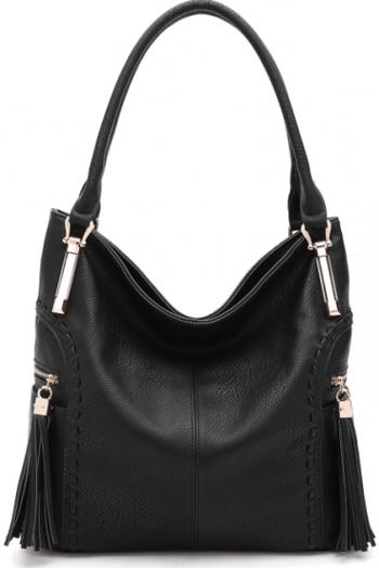 Mia Farrow MKF Collection Black Handbag