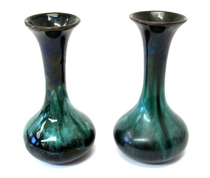 Set of 2 Original Blue Mountain Pottery Small Vases