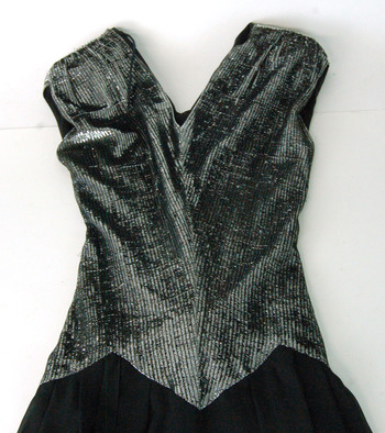 Women's Silver Sequin Dress Size S