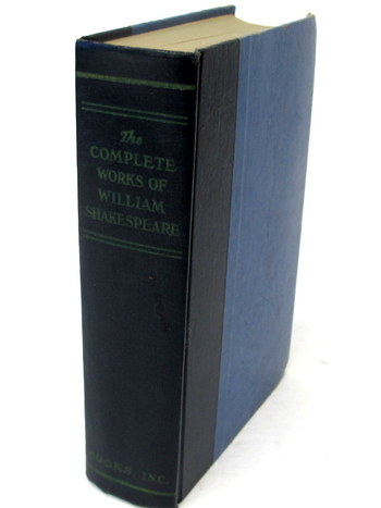 Vintage Book- The Complete Works of William Shakespeare- 1948