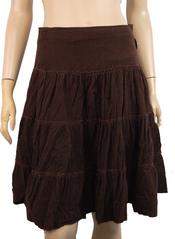 Women's Designer Razzle Dazzle Cotton Skirt - Size S