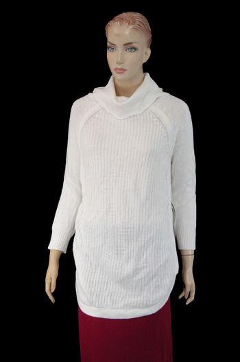 Women's Designer CLOTH Knitted Sweater - Size L