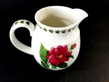 Vintage English Royale Gardens Porcelain Pitcher