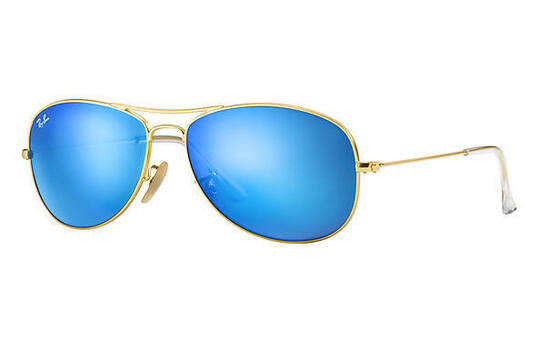 Ray-Ban Unisex Cockpit Aviator Sunglasses