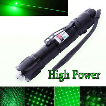 10 Miles 532nm Green Laser Pointer Pen Visible Beam Light Laser + Star Cap