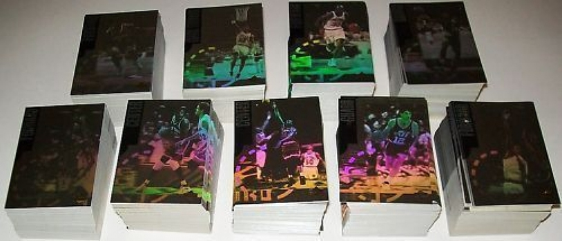 1996-97 Upper Deck Special Edition NBA '96 Hologram 9 Card Insert Set Lot of 100