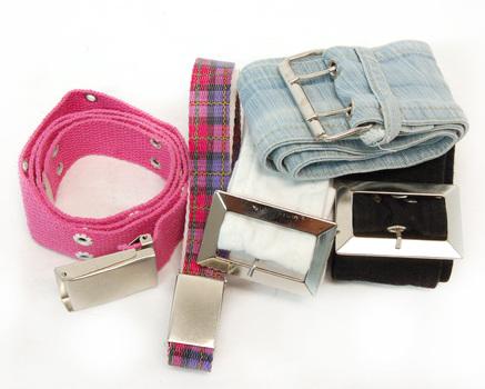 5 - Women's Fashion Belts - Fabric