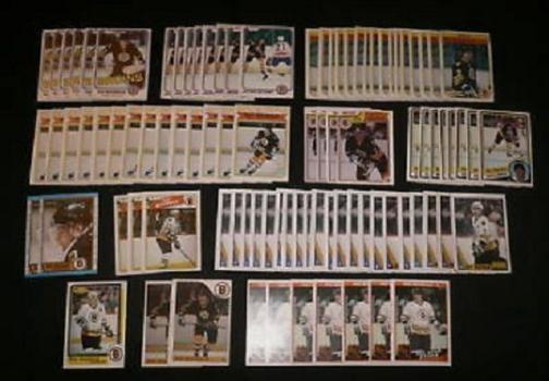 Ray Bourque Boston Bruins O-Pee-Chee NHL OPC Hockey 73 Card Lot $846 Beckett Value