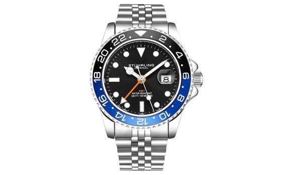 Stuhrling Men's Aquadiver Bracelet Watch