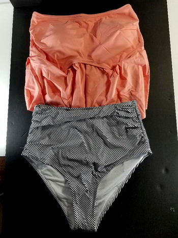 NWT Cupshe Seaside Gale Falbala High-Waist Bikini Size M