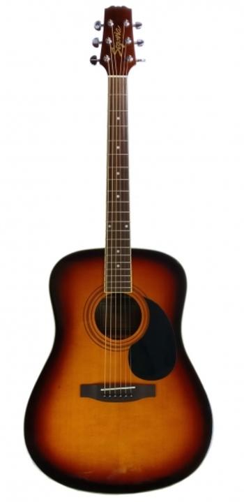 Segovia D07G-TS Tobacco Sunburst Gloss 6-String Dreadnaught Acoustic Guitar, MSRP: $250.00