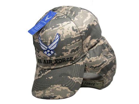 U.S. Air Force Wings ACU Digital Camo Embroidered Cap Hat Licensed