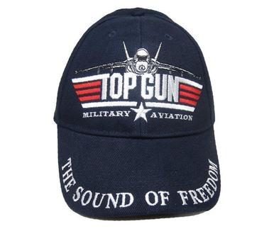 Top Gun Black Baseball Hat Cap Tom Cruise Cap Top Gun
