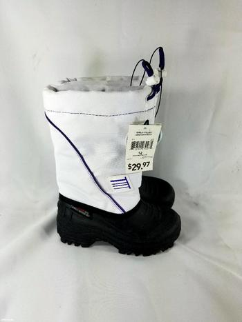 New With Tags Weather Spirits Girls' Drawstring Winter Boots Size 2