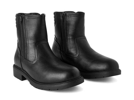 New Without Tags Weather Spirit Men's Barney Winter Boots Black Size 8